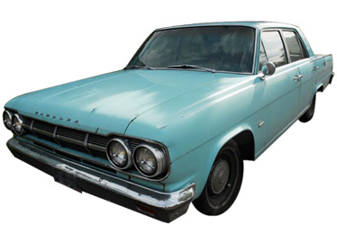 1965 AMC Rambler Classic 770 car.