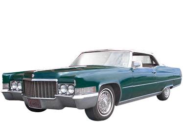 1970 Cadillac Deville car