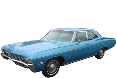 1968 Chevrolet Impala car.