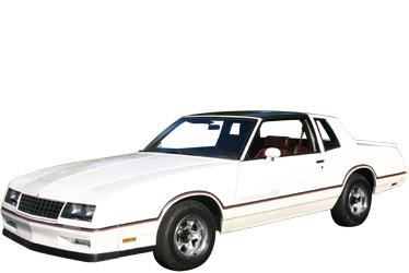 1986 Chevrolet Monte Carlo SS car