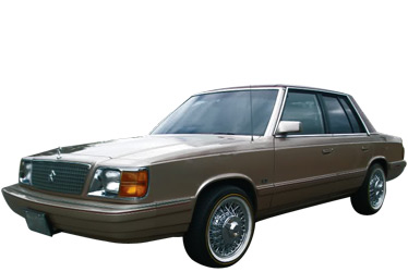 1985 Chrysler Aries car.