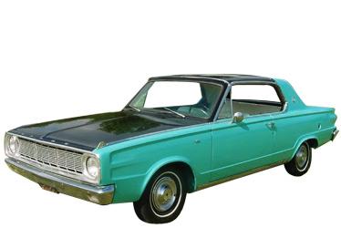 1966 Dodge Dart car