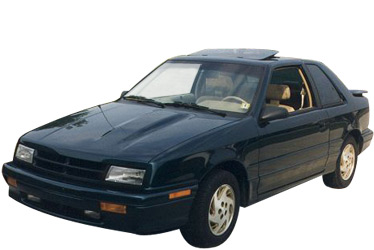 1989 Dodge Shadow ES car