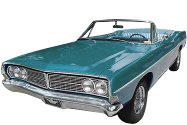 1968 Ford Galaxie 500 Convertible car