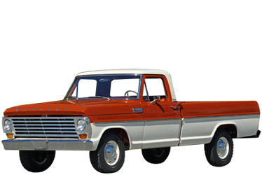 1968 Mercury M100 truck