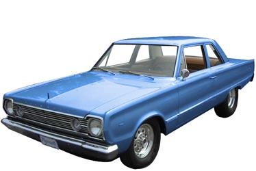 1966 Plymouth Belvedere car
