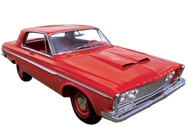 1963 Plymouth Fury car