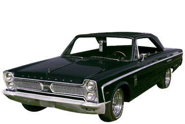 1966 Plymouth Fury II car