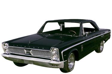 1966 Plymouth Fury II car