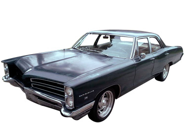 1966 Pontiac Parisienne car