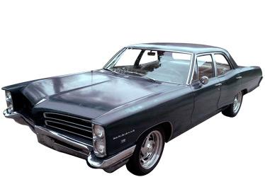 1966 Pontiac Parisienne car