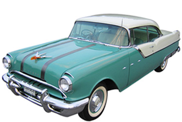 1955 Pontiac Star Chief car