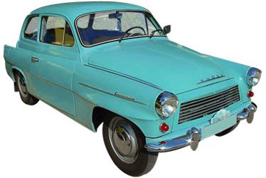 1961 Skoda Octavia car