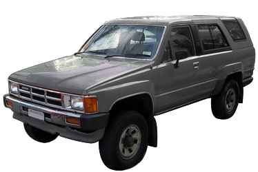 1986 Toyota 4runner car.