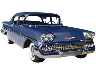 1958 Chevrolet Biscayne car.