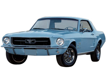 1967 Ford Mustang car.