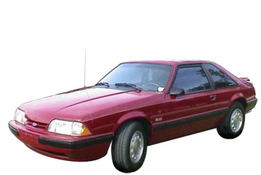 1987 Ford Mustang car.