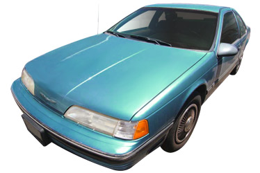 1989 Ford Thunderbird car.